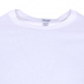 Lot de 2 tee-shirts col rond Hom Daily cotton blanc