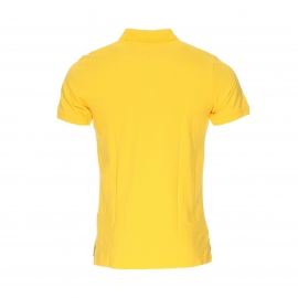 Polo Hilfiger Denim en piqué de coton jaune