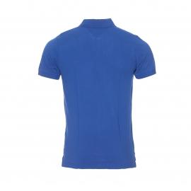 Polo Hilfiger Denim en piqué de coton bleu roi