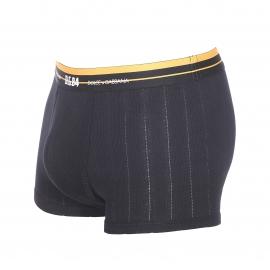 Boxer Dolce&Gabbana en coton et modal noir côtelé