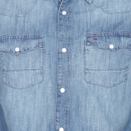 Chemise en jean Hilfiger denim à poches poitrine