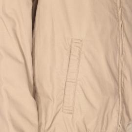 Blouson zippé TBS Lukblo en coton beige