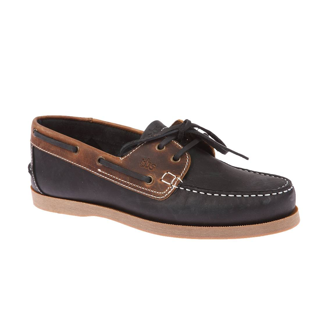 Chaussure bateau TBS en cuir marron Marron X2iSTB