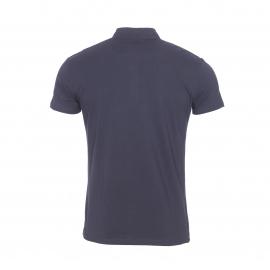 Polo Antony Morato en jersey de coton stretch bleu marine