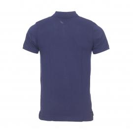 Polo Hilfiger denim en maille piquée bleu marine