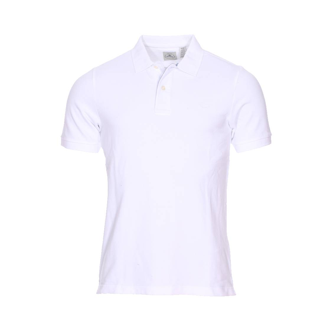 Polo <strong>dockers</strong> en maille piquée blanche