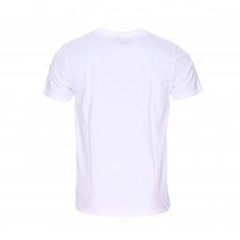 Tee-shirt col rond T-Togs Chevigon en coton blanc