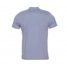 Polo cintré O-Togs Chevignon en maille piquée bleu gris