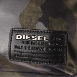 Sacoche porté croisé Diesel à imprimé camouflage