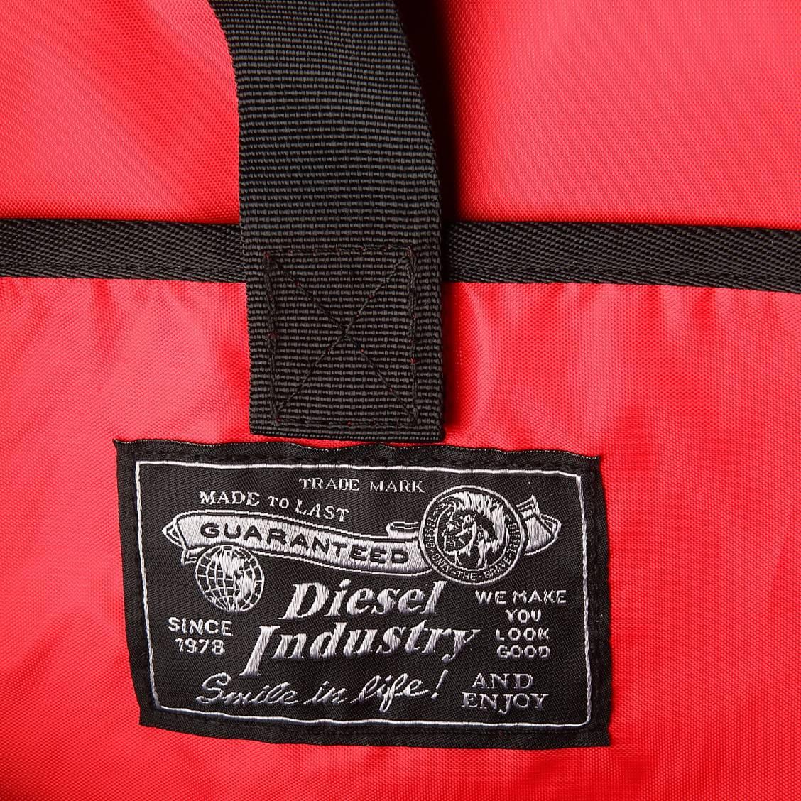 sac dos diesel close ranks noir monogramm. Black Bedroom Furniture Sets. Home Design Ideas
