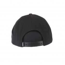 Casquette Drop V Snapback Van's noire brodée en blanc
