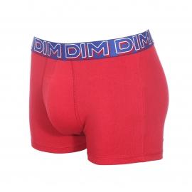 Lot de 3 boxers Dim Powerful en coton stretch rouge, bleu et noir