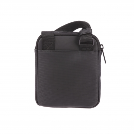 Petite sacoche plate Calvin Klein Jeans Gregory noire