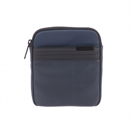 Petite sacoche plate Calvin Klein Jeans Gregory bleu marine