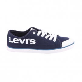 Baskets Venice L Levi's en toile bleu marine floquées en blanc