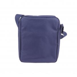 Sacoche Lacoste en toile bleu marine
