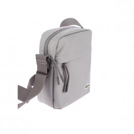 Petite sacoche Lacoste en toile grise