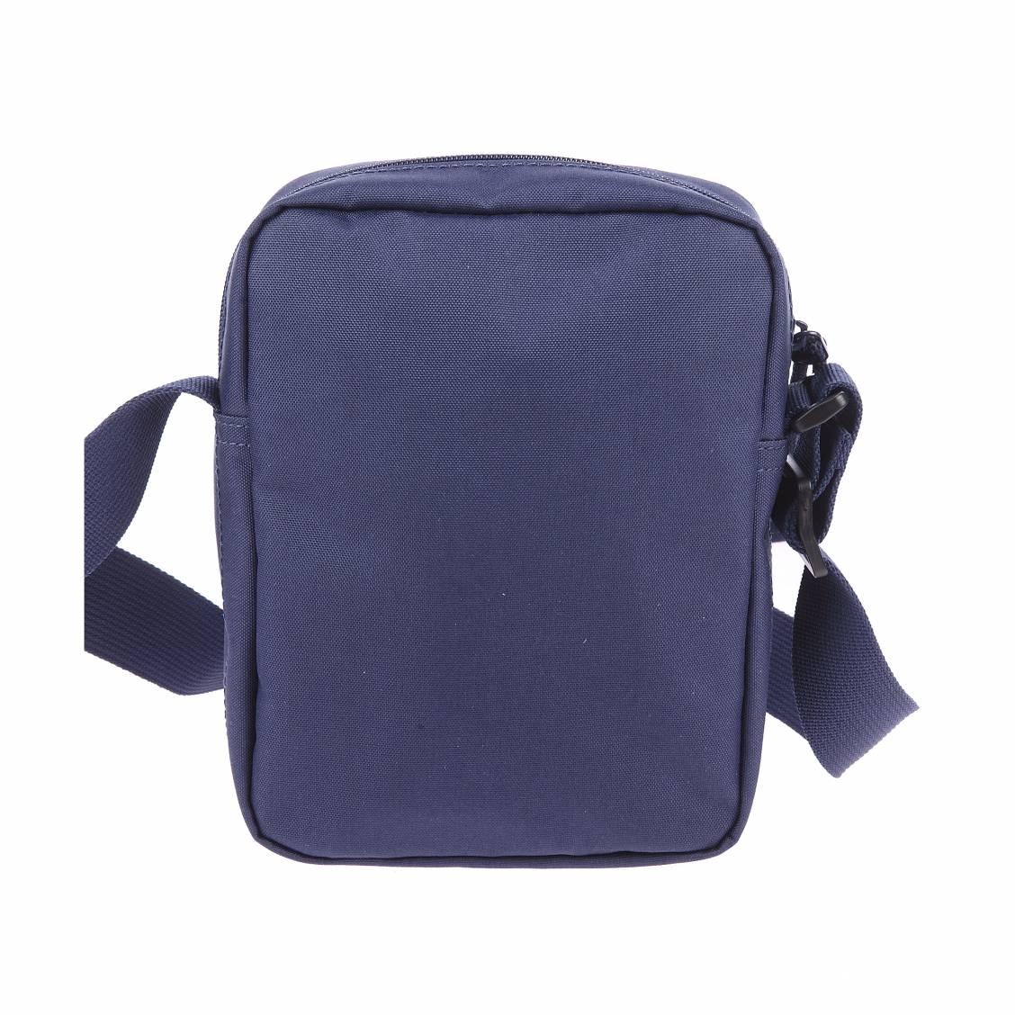 Petite sacoche Lacoste en toile bleu marine NJD282dE
