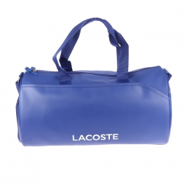 Sac polochon Lacoste Sport Ultimum bi-matières bleu roi
