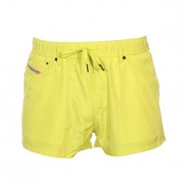 Short de bain Diesel jaune fluo