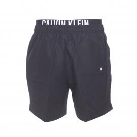 Short de bain Calvin Klein noir à double ceinture