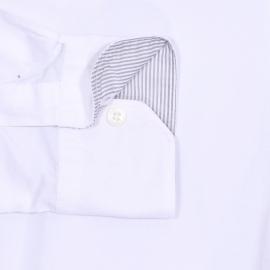 Chemise ajustée Guyamas Napapijri en coton blanc