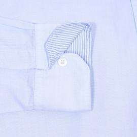 Chemise ajustée Guyamas Napapijri en coton bleu ciel