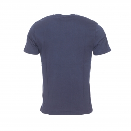 Tee-shirt col rond Original Penguin en jersey de coton bleu marine floqué du logo en blanc