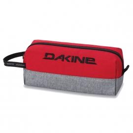 Petite trousse Dakine rouge et gris chiné