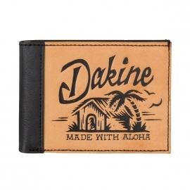 Portefeuille italien Dakine en simili cuir camel Beach hut