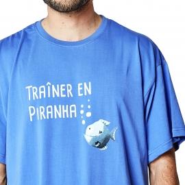 Maxi tee-shirt bleu océan