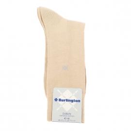 Chaussettes Dublin Burlington en coton stretch beige
