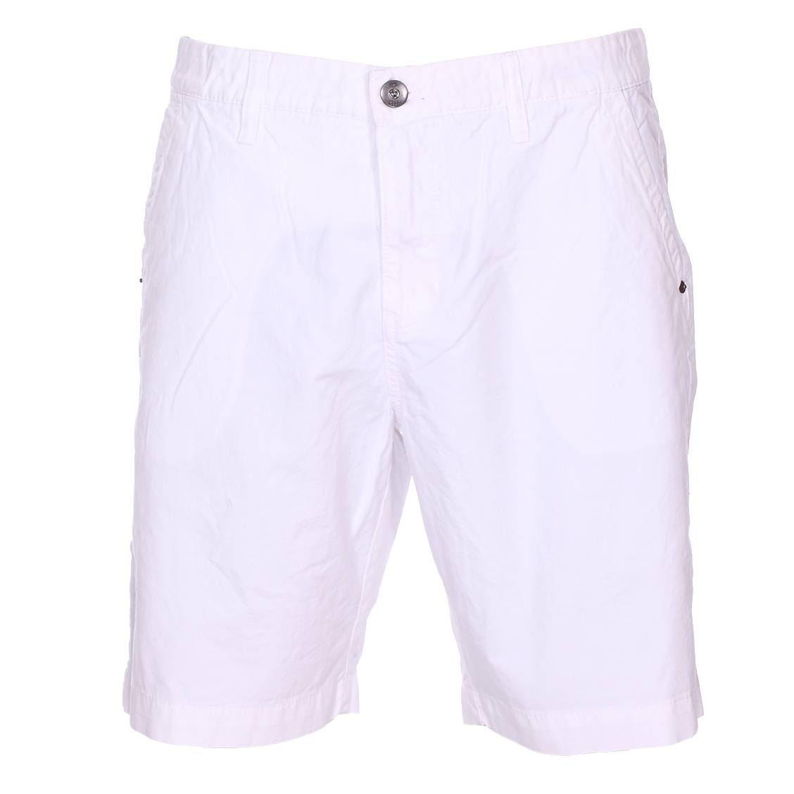 Short chino Gaastra en coton blanc
