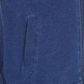 Sweat zippé Steve Gentleman Farmer bleu indigo