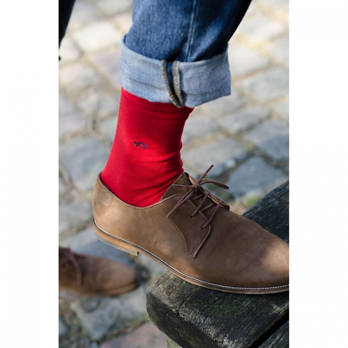 chaussettes homme en coton rue des hommes. Black Bedroom Furniture Sets. Home Design Ideas
