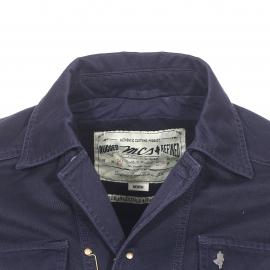 Blouson MCS en coton bleu marine