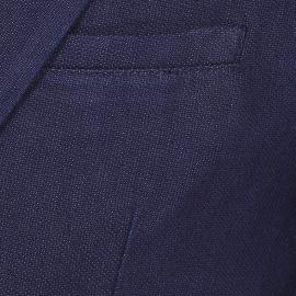 Veste de blazer cintrée No Excess bleu marine