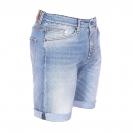 Short Meltin'Pot en jean bleu clair