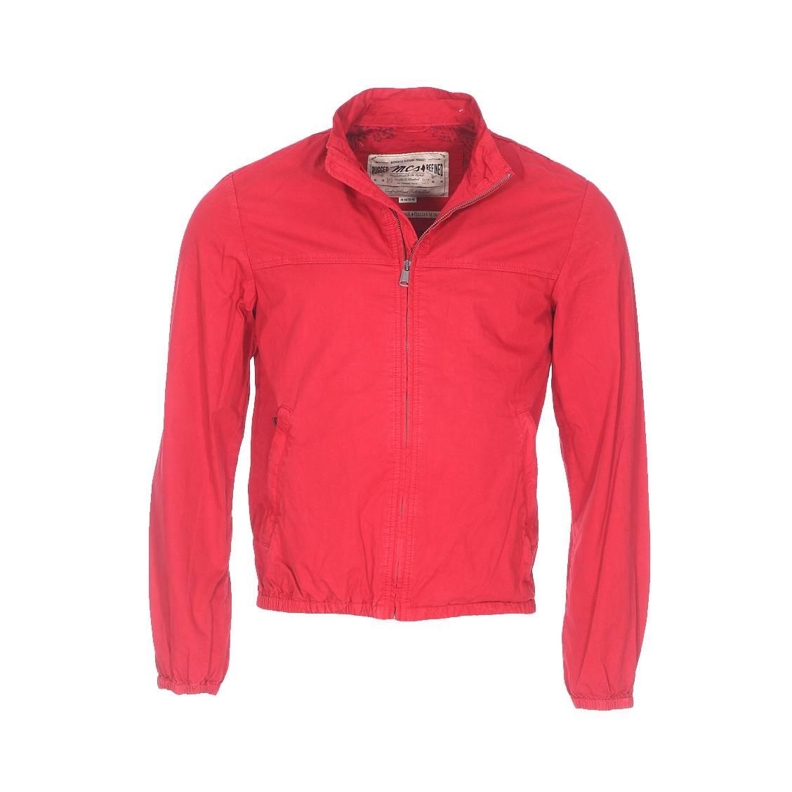 Blouson  en coton rouge