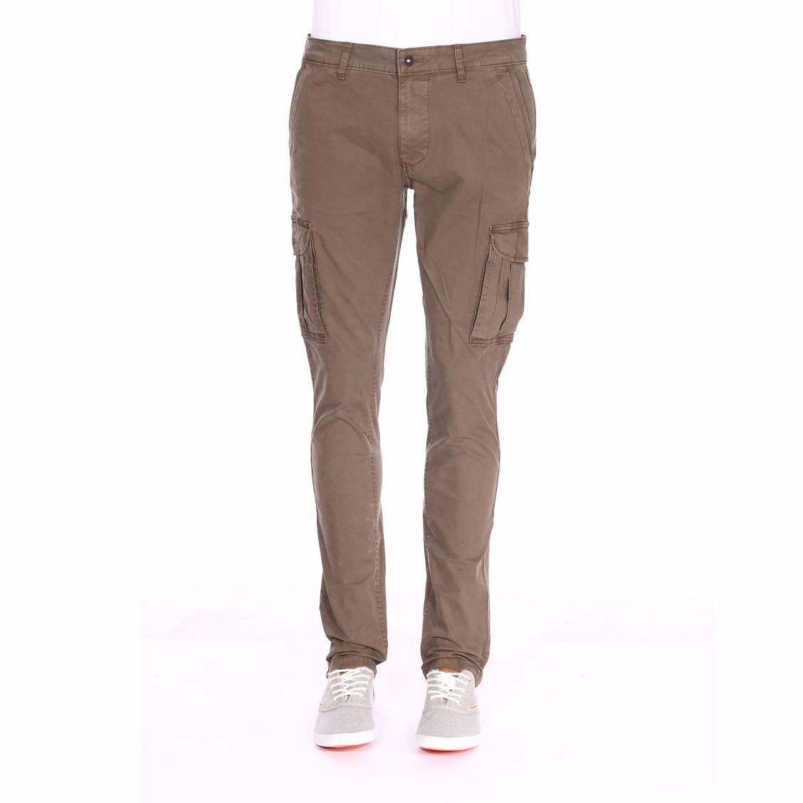 Pantalon Cargo Nutria Kaki Coton En Napapijri Stretch Moto Rue Des r4rFngWH