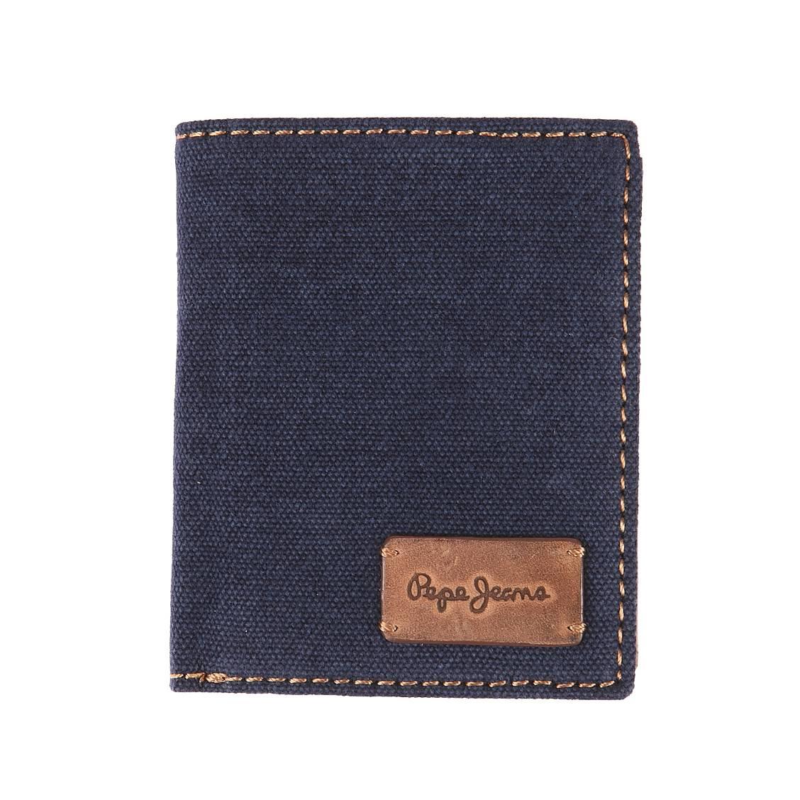 Petit portefeuille européen 3 volets pepe jeans...