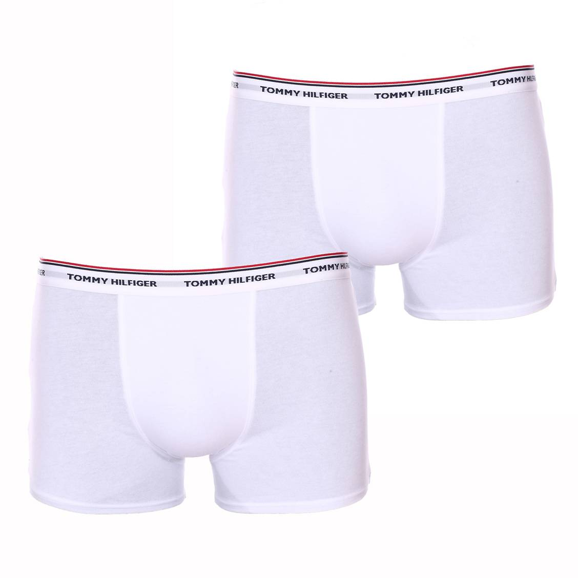 Lot de 2 boxers  en coton stretch blanc