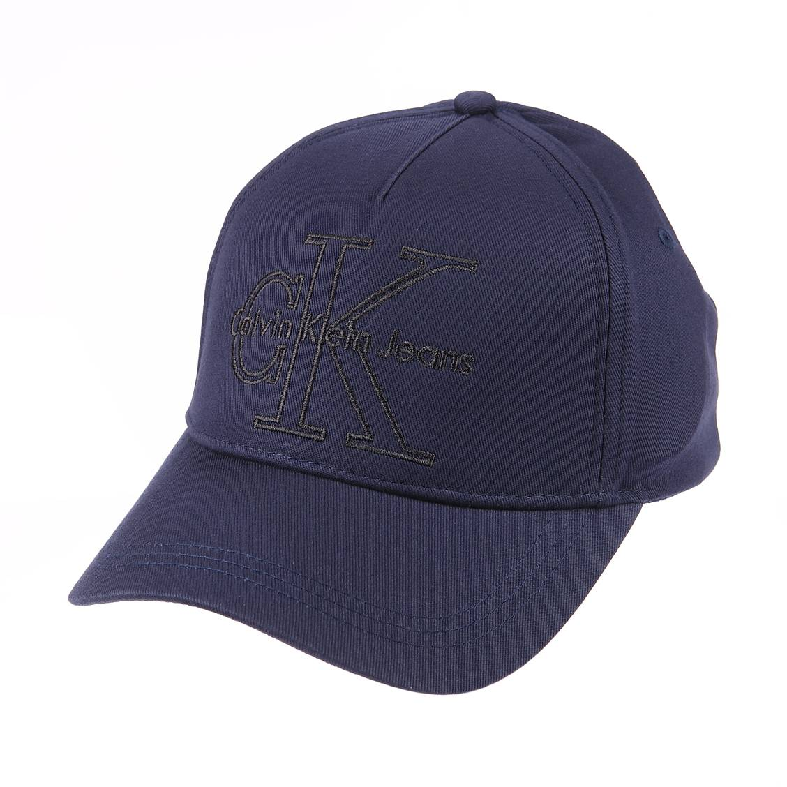 Casquette  j re-issue en coton bleu marine