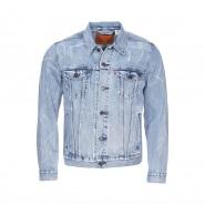 Veste Trucker Levi's en coton mélangé bleu jean