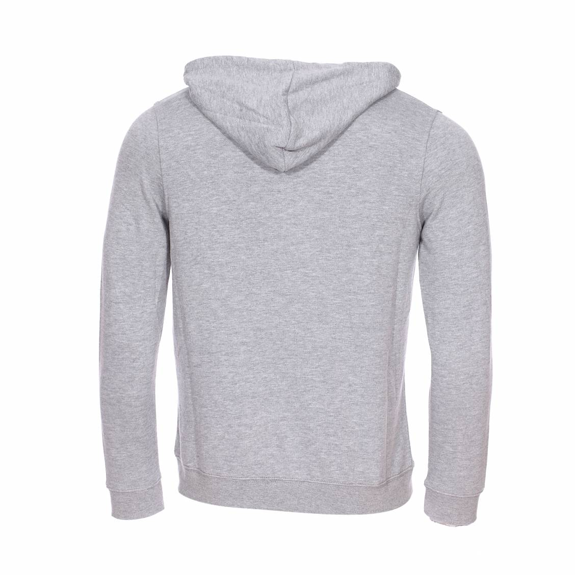 fréquent parcourir les dernières collections divers styles Sweat zippé à capuche Element Junior Vertical gris chiné | Rue Des Hommes