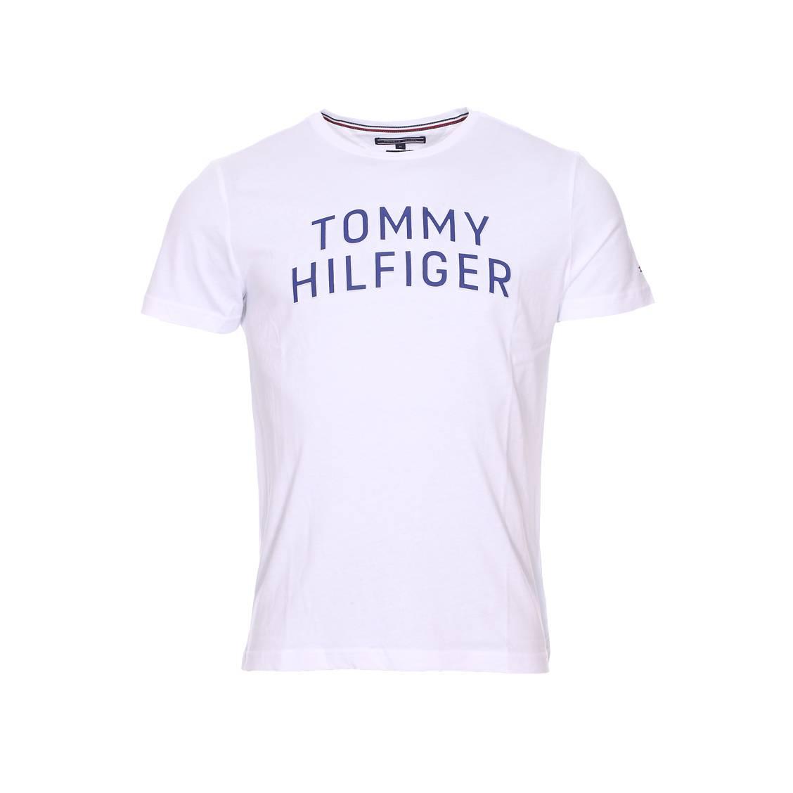 tee shirt manches courtes homme tommy hilfiger jusqu. Black Bedroom Furniture Sets. Home Design Ideas