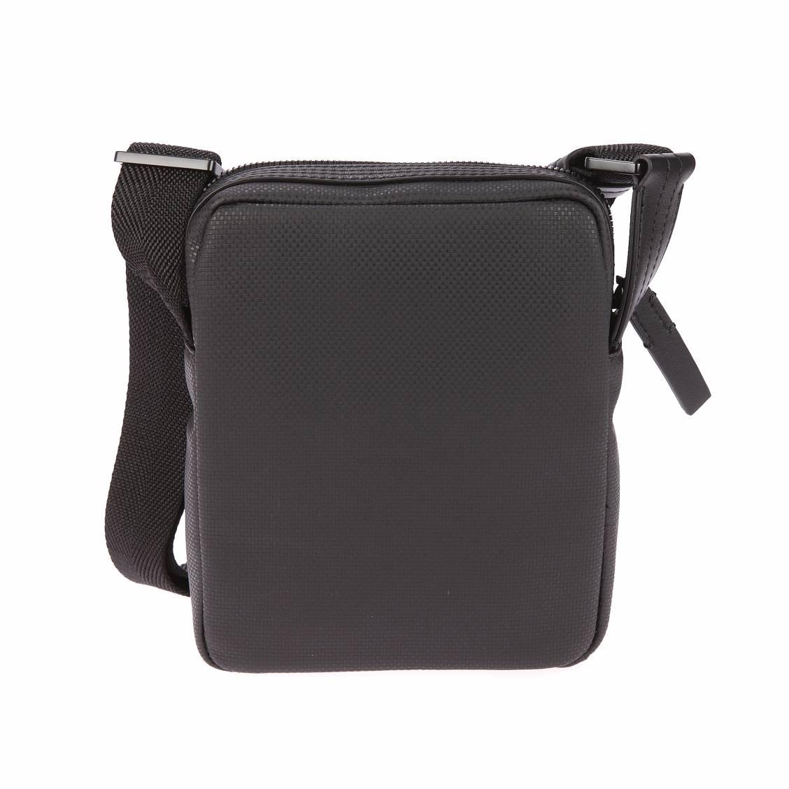 Sacoche Calvin Klein Jeans Quad Stitch noire à flocage blanc Ene4KKCE