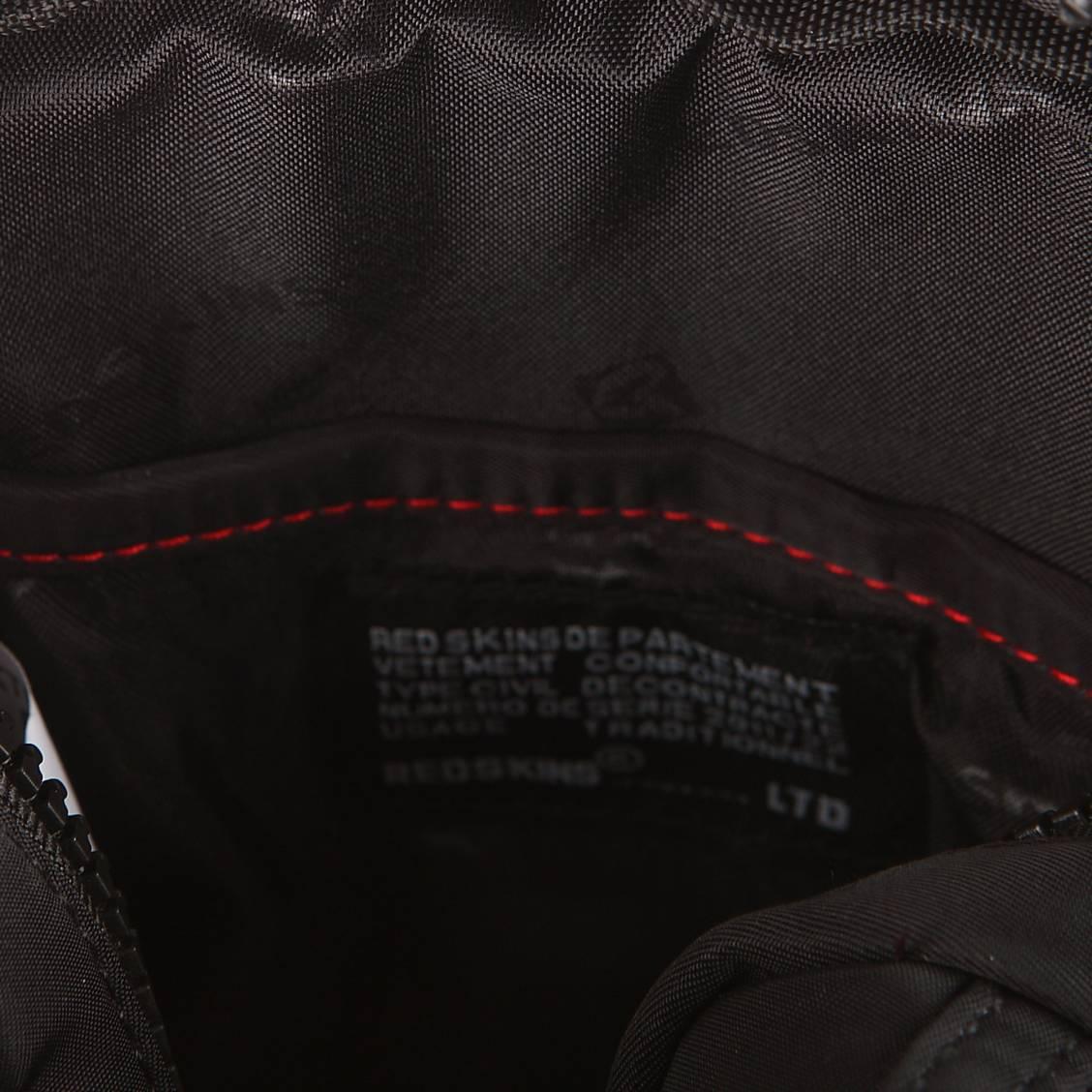 Petite sacoche Redskins Field en toile noire à effet matelassé GaQWVF5Bjc