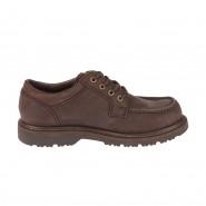 Chaussures TBS Sannio en cuir pleine fleur marron foncé