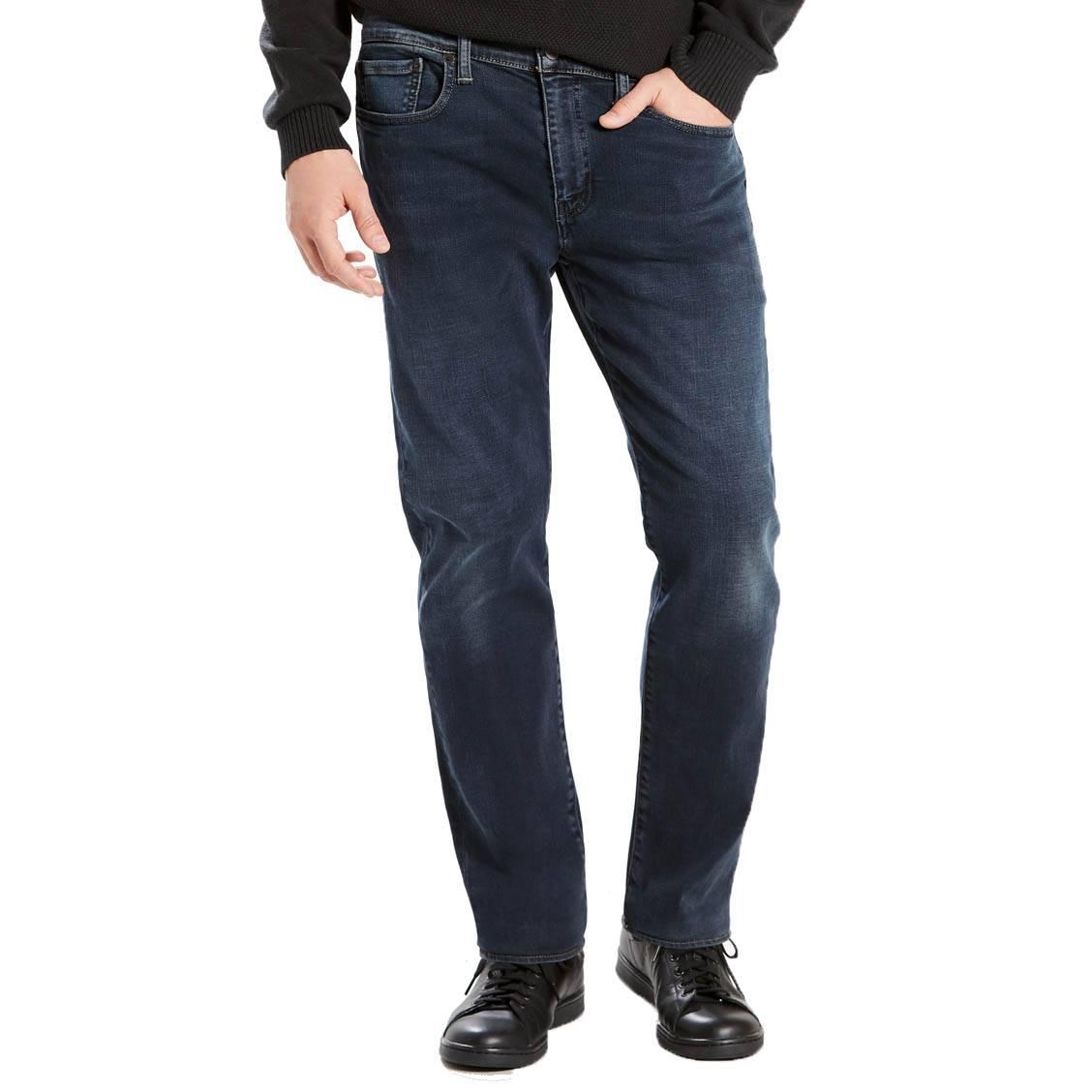 1d44411d95210 Jeans Levi s 502 regular taper Eyser Stretch en coton stretch bleu foncé ...